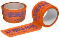 Oranžové Potištěné pásky
