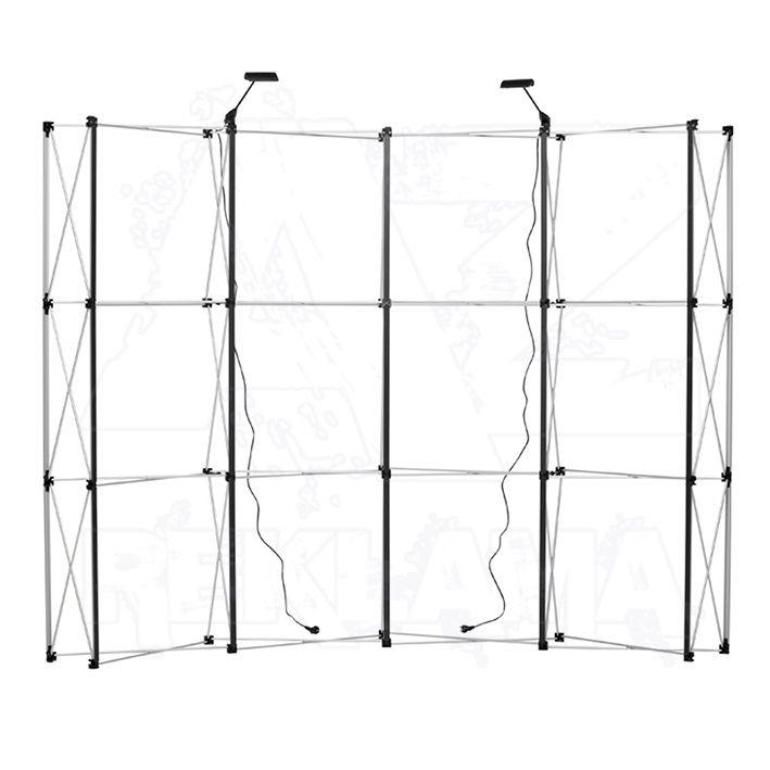 Magnetická stěna 4x3 - konstrukce