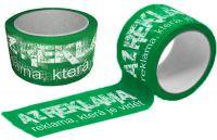 Zelené Potištěné pásky