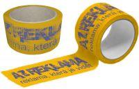 Žluté Potištěné pásky