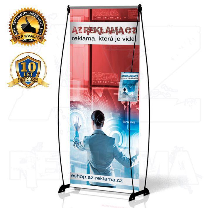 Banner Design s kapsou 100x200 konstrukce A-Z Reklama CZ