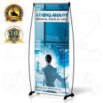 Přenosný Banner Design 85x200 konstrukce A-Z Reklama CZ