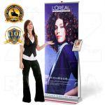 Přenosný Roll Up Banner Design s kapsou 85x207 A-Z Reklama CZ