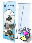 Banner display 90x200 s tiskem