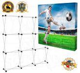 Textilní stěna 3x3 - konstrukce