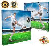 Textilní stěna 3x3 - přední tisk s boky