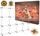 Textilní stěna 4x3 - konstrukce