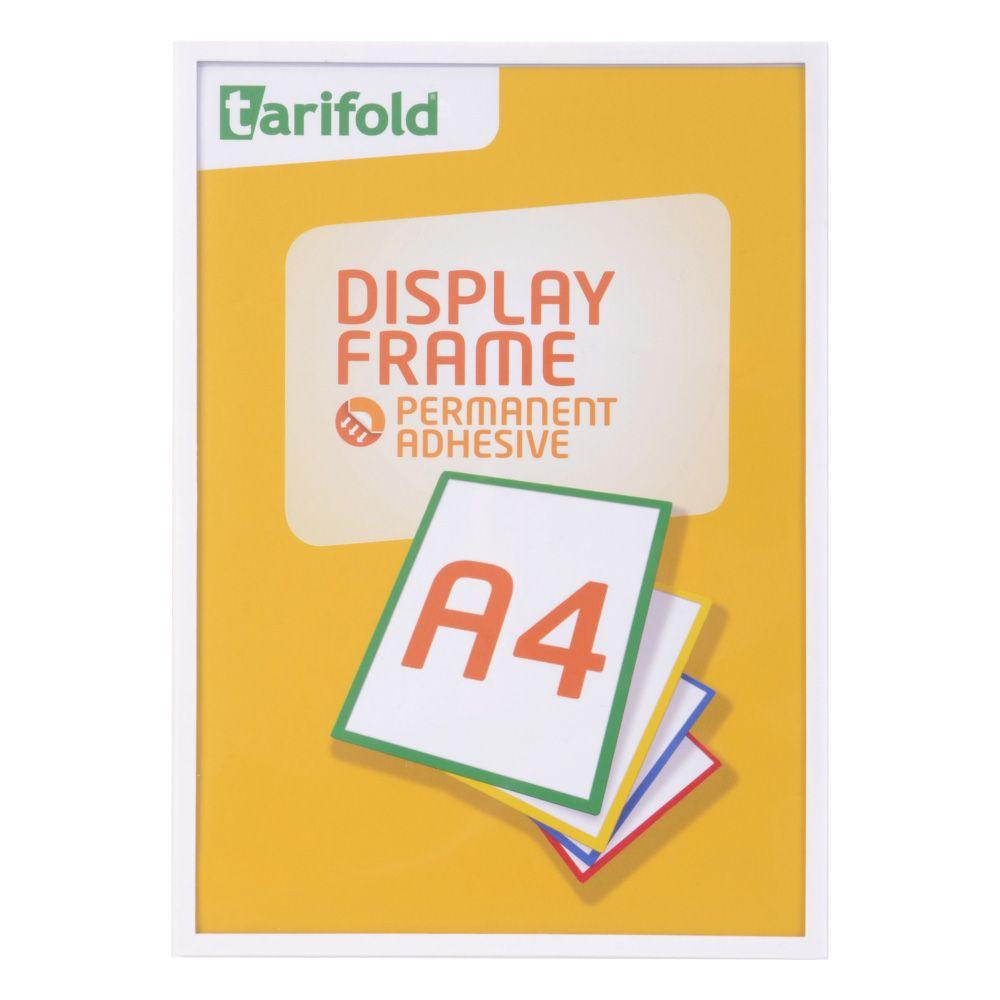 Samolepící rámeček Tarifold A4 (5ks), Bílá
