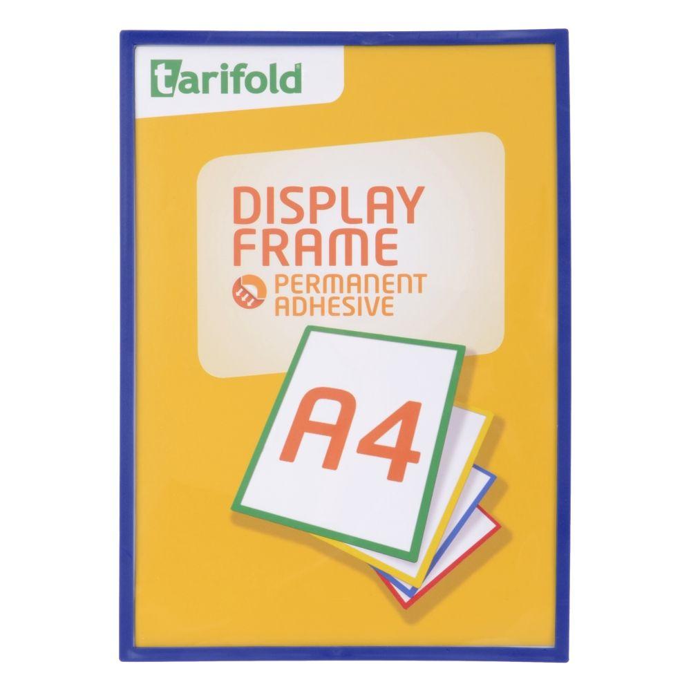 Samolepící rámeček Tarifold A4 (5ks), Modrá