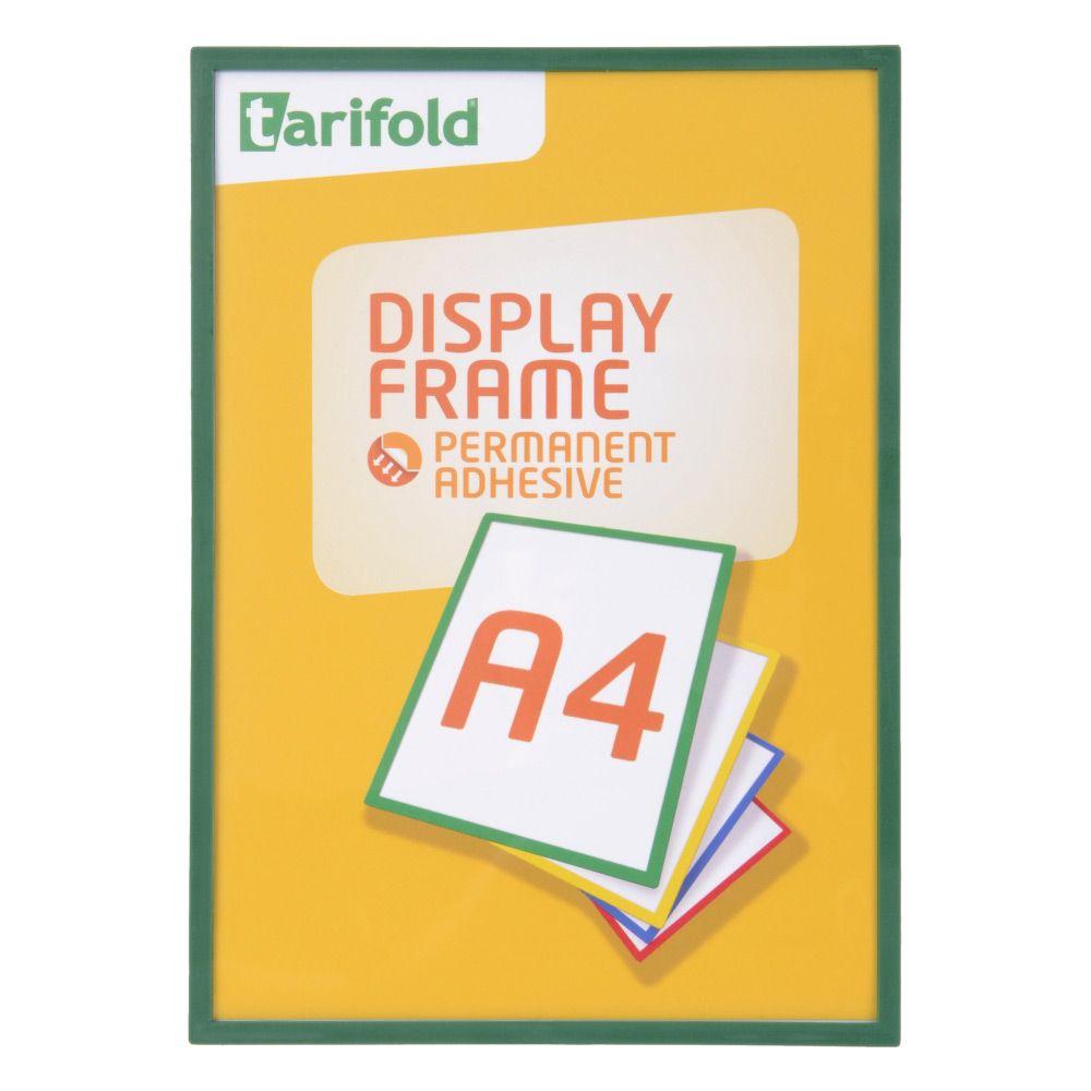 Samolepící rámeček Tarifold A4 (5ks), Zelená