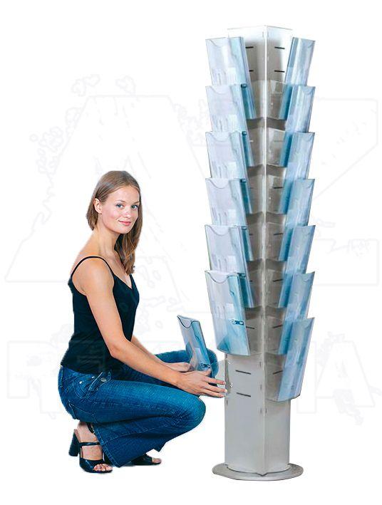 Kompletní set Tower Dacapo Magic 21x zásobník A4 A-Z Reklama CZ