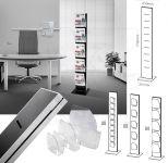 Oboustranný stojan Dacapo iPoint s 10 kapsami A4 A-Z Reklama CZ