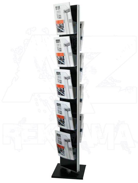 Otočný stojan Dacapo Twist s 9 kapsami na letáky A4