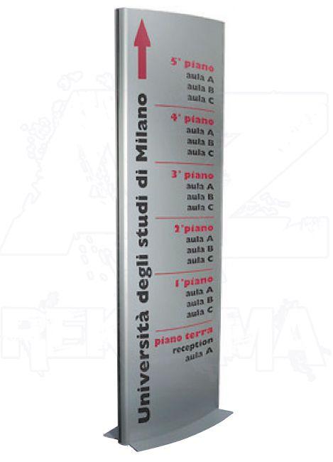 Prezentační Informační stojan Totem PYLO 600x1905