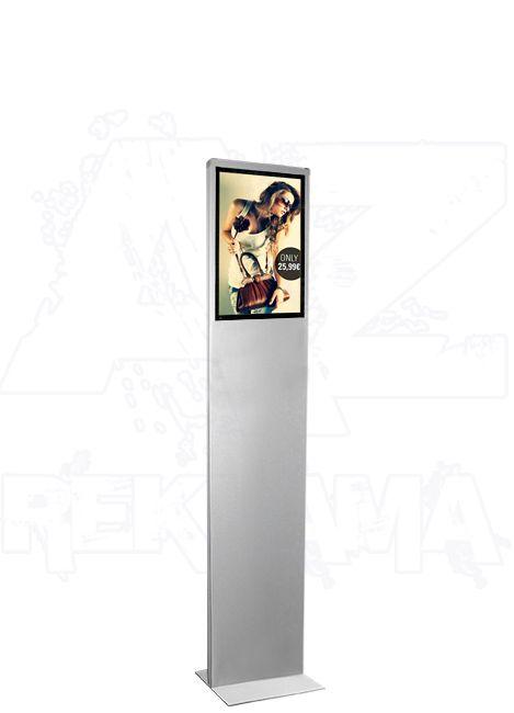 Prosvětlený plakátový Info stojan iPOINT Lumo A4
