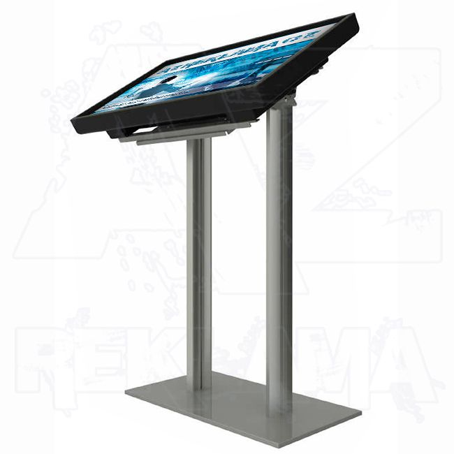 Volně stojící stojan s držákem obrazovky Digi Sign