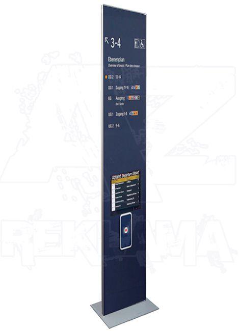 Výstavní Informační Totem iPOINT 400x1900 mm