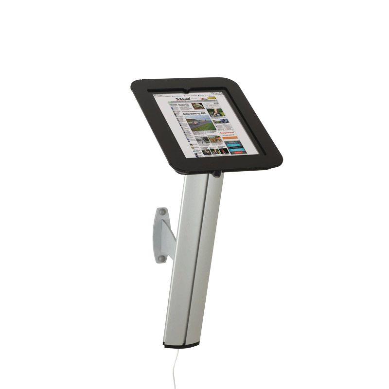 Držák pro iPad s uchycením na stěnu - Černý