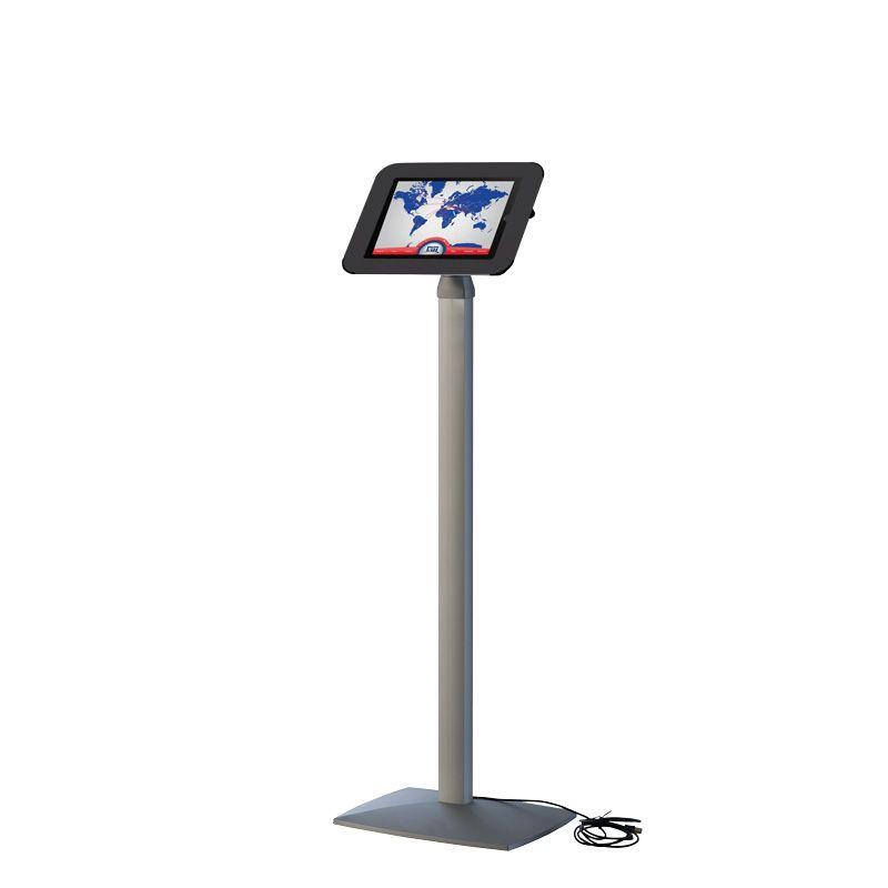 Podlahový stojan Flexible Kiosk pro iPad - Černý