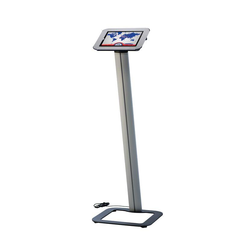 Podlahový stojan Flexible Novel Kiosk na iPad - Bílý