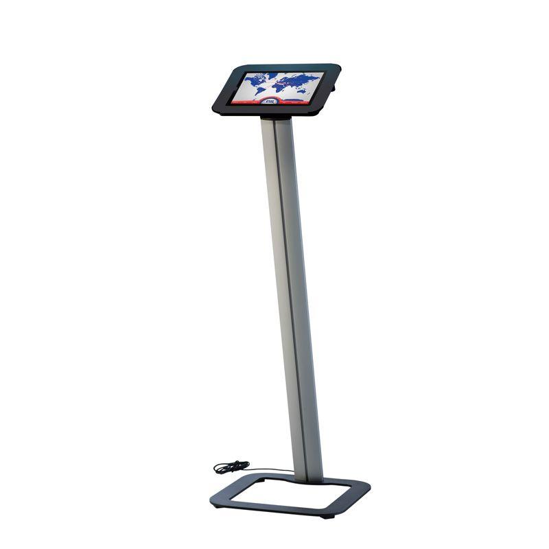 Podlahový stojan Flexible Novel Kiosk na iPad - Černý
