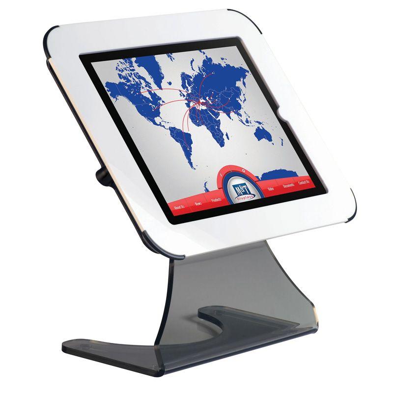 Stolní stojánek na iPad Desktop Kiosk - Bílý