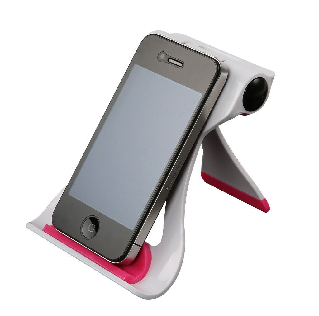 Stolní stojánek na iPad Peak Tablet - Bílo růžový