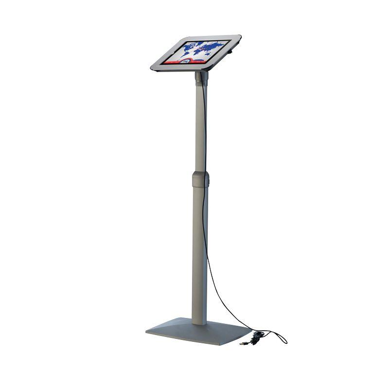 Teleskopický stojan Flexible Kiosk pro iPad - Bílý