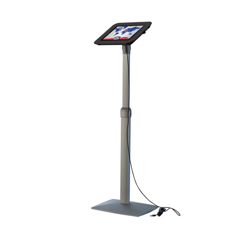 Teleskopický stojan Flexible Kiosk pro iPad - Černý
