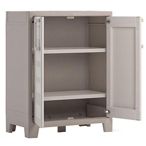 KIS Plastová úložná skříň EVO.CA Gulliver Low Cabinet
