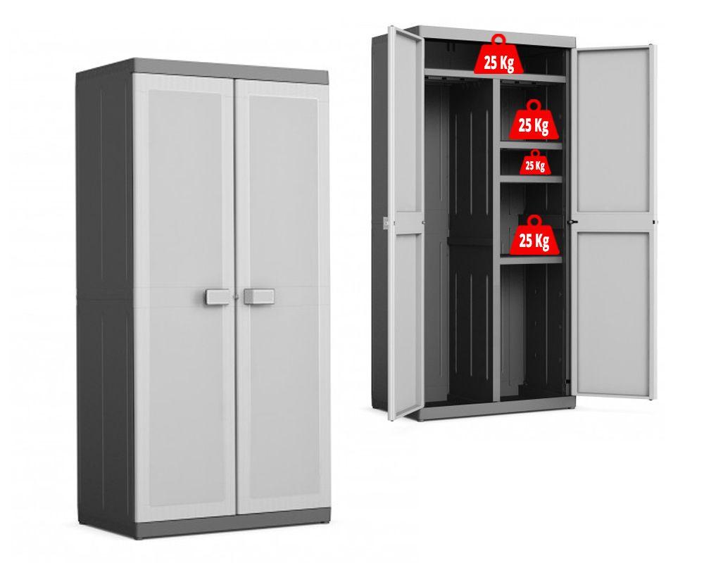KIS Plastová úložná skříň Logico Utility Cabinet XL