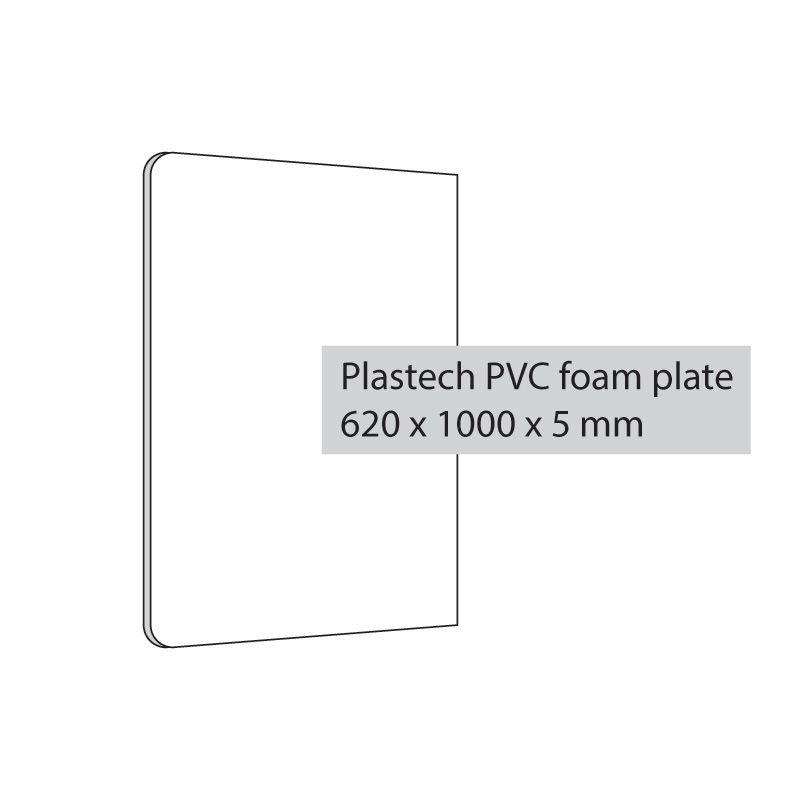 Plastový panel pro Flap Gripper 620x1000x5 mm