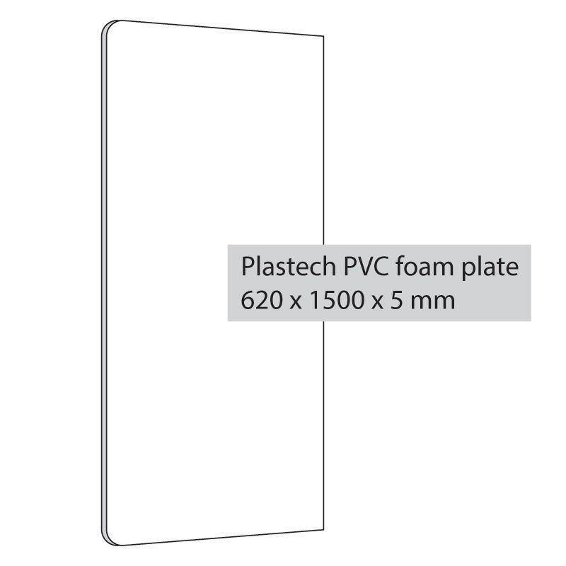 Plastový panel pro Flap Gripper 620x1500x5 mm