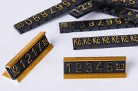 3D Cenovky sada Kč - Zlatý prolis