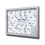 SCL - Premium hluboká vitrína 18xA4