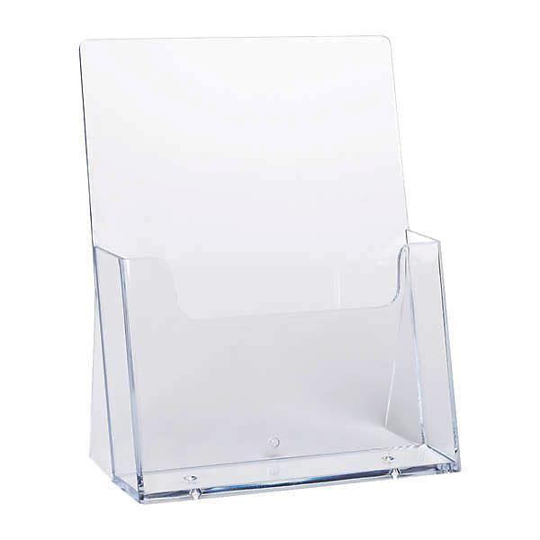 Plastový stojánek na letáky A5 stojací