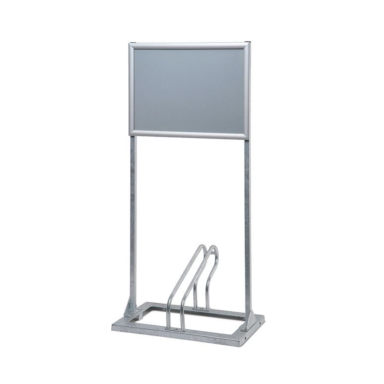 Modulární stojan pro 1 kolo s rámem na plakáty A2