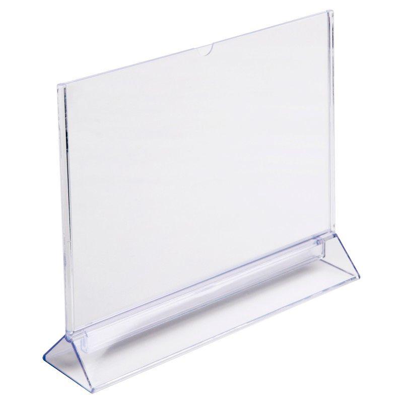 Plastový stojánek Tvar Y - A5 na šířku