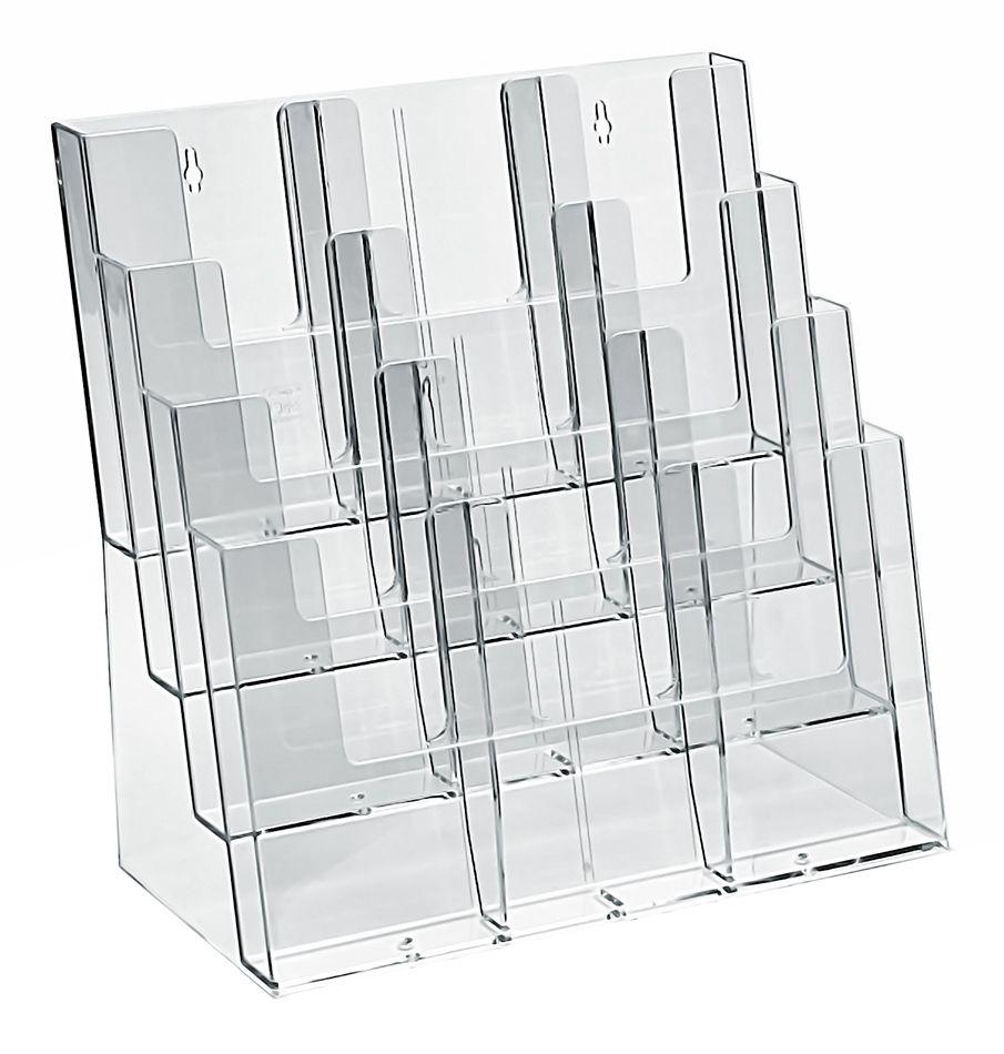 Plastový Zásobník na 4xA3 4xA4 12xDL