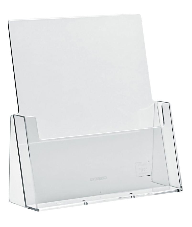 Plastový zásobník na letáky A4 stojací