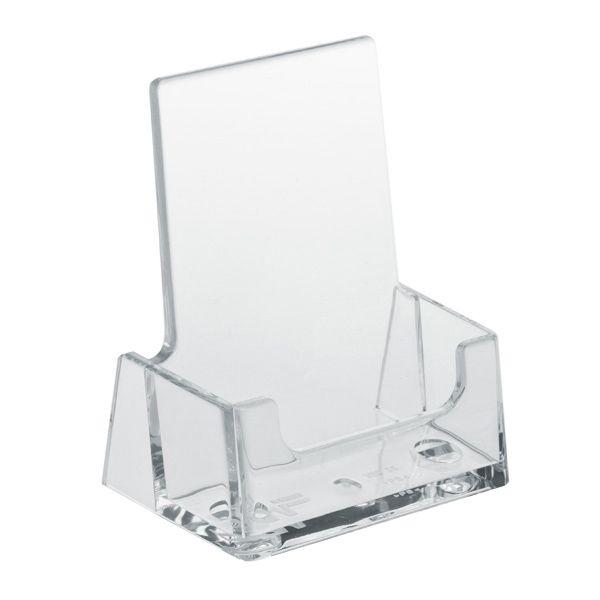 Plastový zásobník na vizitky na výšku stojací