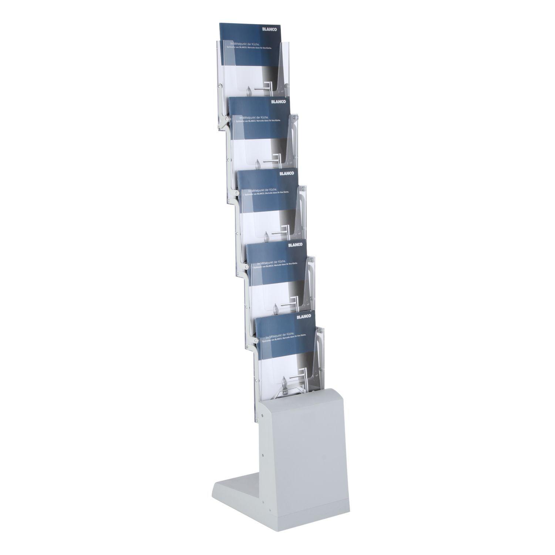 Skládací stojan na letáky Zick-Zack Portable 5x A4 A-Z Reklama CZ