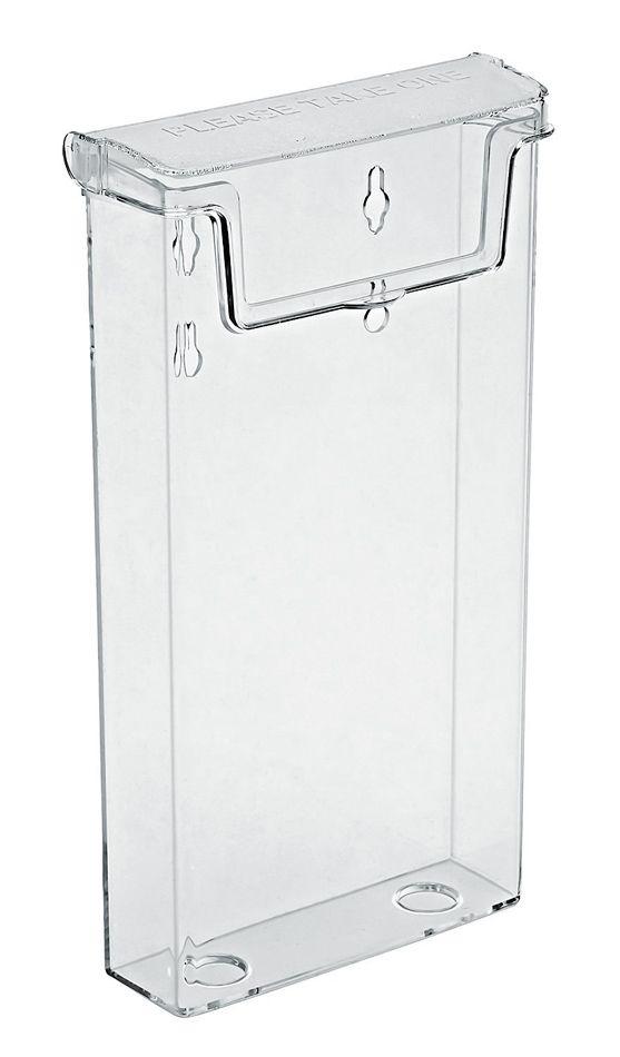 Venkovní zásobník na letáky DL 1/3A4 s poklopem