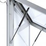 Venkovní LED světelná prémiová vitrína na plakát A1 A-Z Reklama CZ