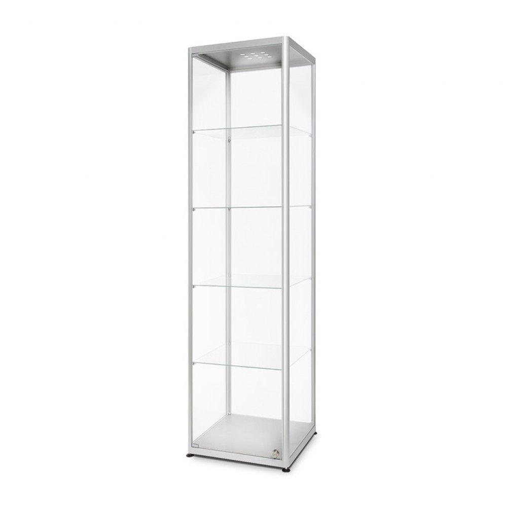 Prosklená osvětlená produktová vitrína 500x2000x500 mm A-Z Reklama CZ