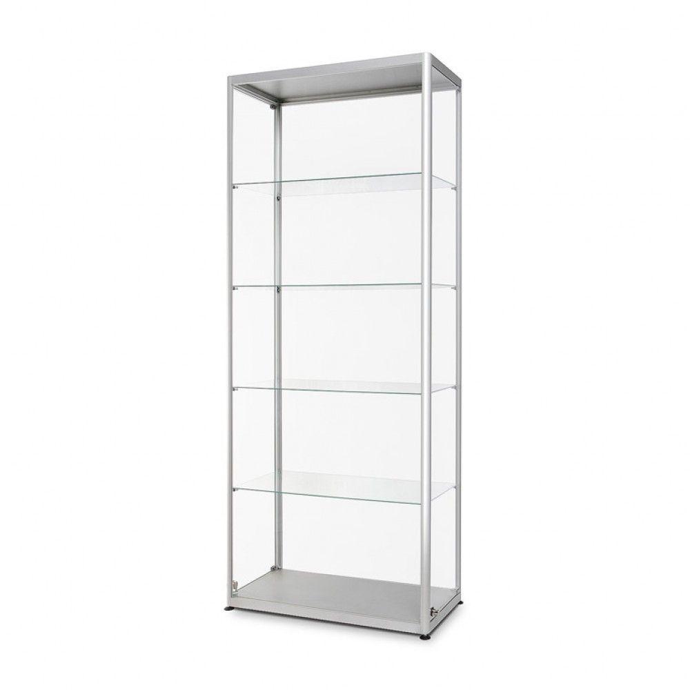 Prosklená vitrína 800x2000x400 mm, boční otevírání A-Z Reklama CZ