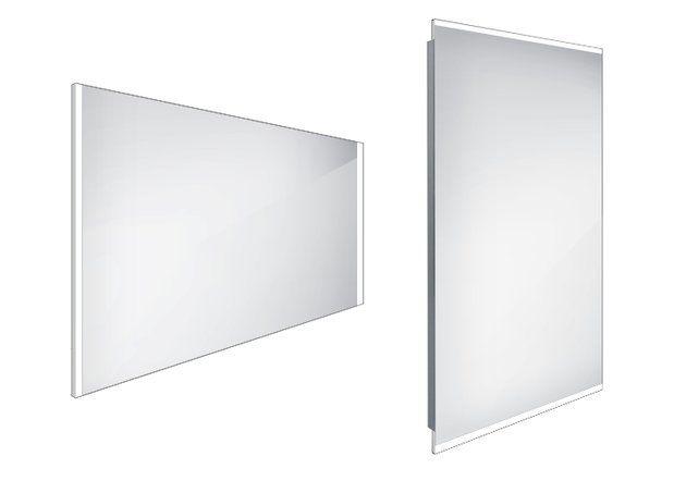 Koupelnové podsvícené LED zrcadlo 1000x700 - ZP 11004