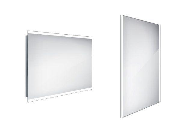 Koupelnové podsvícené LED zrcadlo 1000x700 - ZP 12004