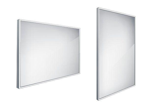 Koupelnové podsvícené LED zrcadlo 1000x700 - ZP 13004