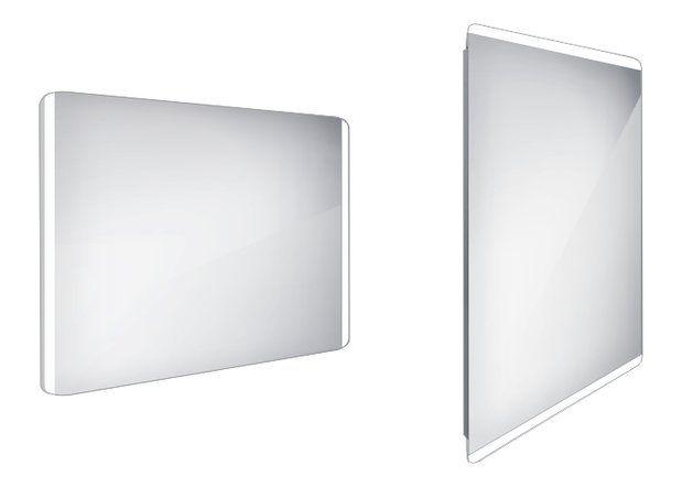Koupelnové podsvícené LED zrcadlo 1000x700 - ZP 17004